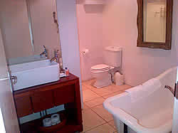 Luxury bathrooms at Bentley Guest House in Umhlanga Rocks
