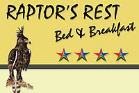Empangeni Accommodation - Emapngeni B&B - Empangeni affordable accommodation at Raptor's Rest B&B