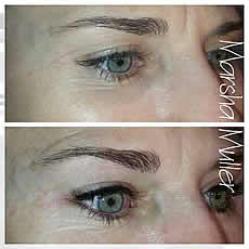 Permanent Make Up for eyeliners and eyebrows