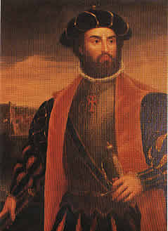 Vasco de Gama the Portuguese Navigator and explorer who named  the area Terra Natalis on December 25 1497